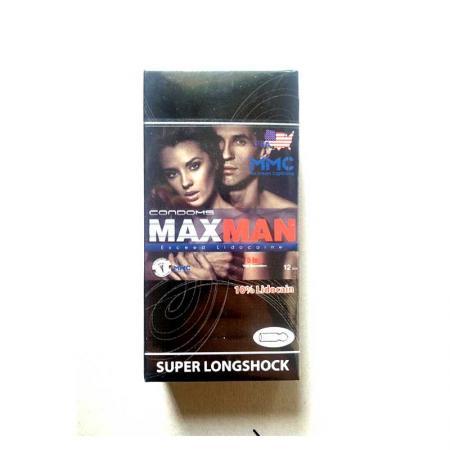 Phân phối 2 hộp bao cao su Maxman 5 trong 1