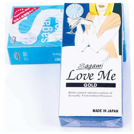Phân phối 3 HỘP bao cao su Sagami Love Me Gold