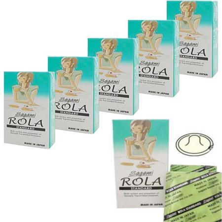 Phân phối 3 hộp Bao cao su Sagami Rola Standard