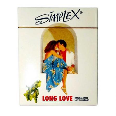 Phân phối 3 HỘP bao cao su SimPlex Long Love