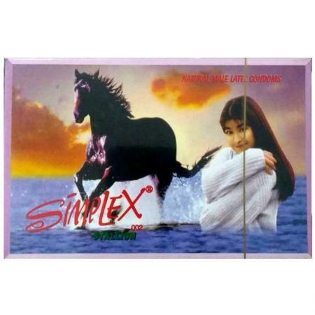 Phân phối 3 HỘP bao cao su Simplex Ngựa Hoang 12 PCS