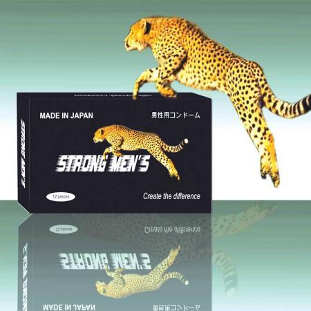 Phân phối 3 HỘP bao cao su Strong Men's (Hổ) (Nhật bản)