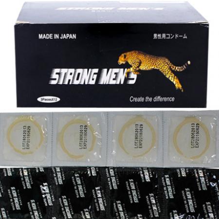 Phân phối 3 hộp Bao cao su Strong Men's