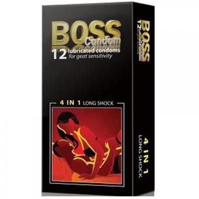 Phân phối 4 Hợp Bao cao su Boss 4 in 1