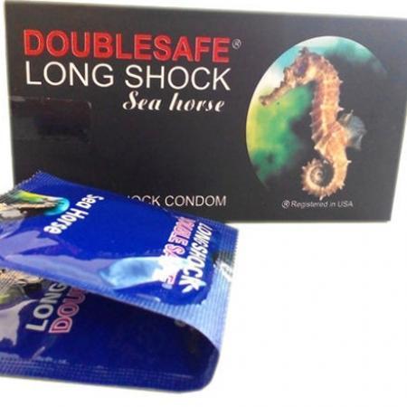 Phân phối 3 hộp Bao Cao Su Cá Ngựa Double safe Longshock