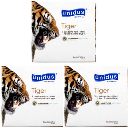 Phân phối 5 HỘP bao cao su Tiger