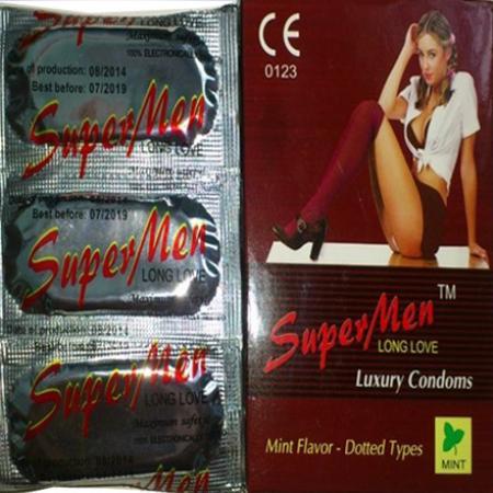 Phân phối Bao Cao Su SuperMen(Hộp 100 cái)