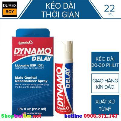Dynamo Delay Xịt chống xuất tinh cao cấp mỹ