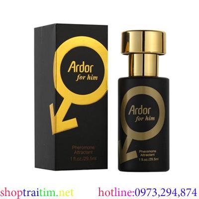 Nước hoa kích dục nữ Ardor for him cực mạnh