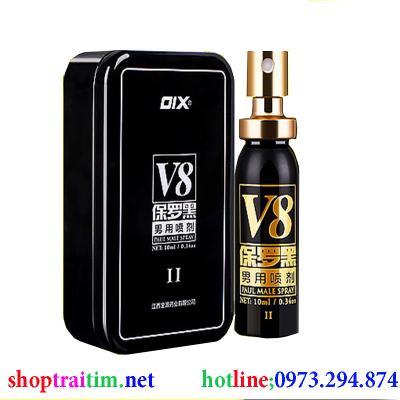 Phân phối Chai xịt chống xuất tinh sớm OIX V8 ( II )