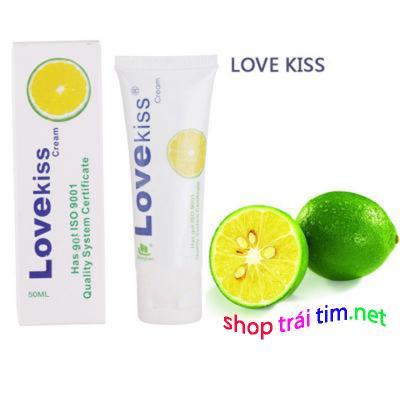 Phân phối Gel bôi trơn hương chanh cao cấp Love Kiss