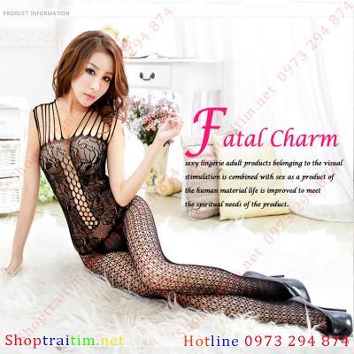 VÁY NGỦ GỢI CẢM SEXXY Fatal  charm