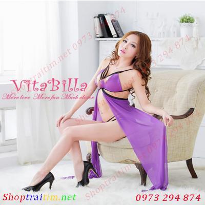 Váy ngủ gợi tình Vitabilla cánh